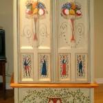 Armoire peinte Acrylique 8 x 4 x 1.5 pi