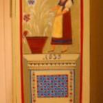 Armoire peinte (coté droit)
