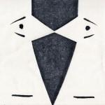 Face à face Monotype 7 x 9 po