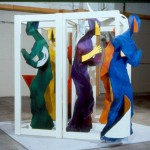 Gospel Singers Installation 7 x 7 x 7 pi