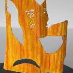 Profil Doré Papier & Bois 12 x 10 x 3 po