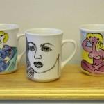 Tasses peintes